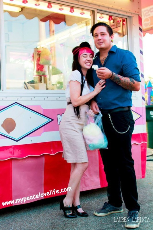 China Barbie's Vintage Carnival Engagement Pictures