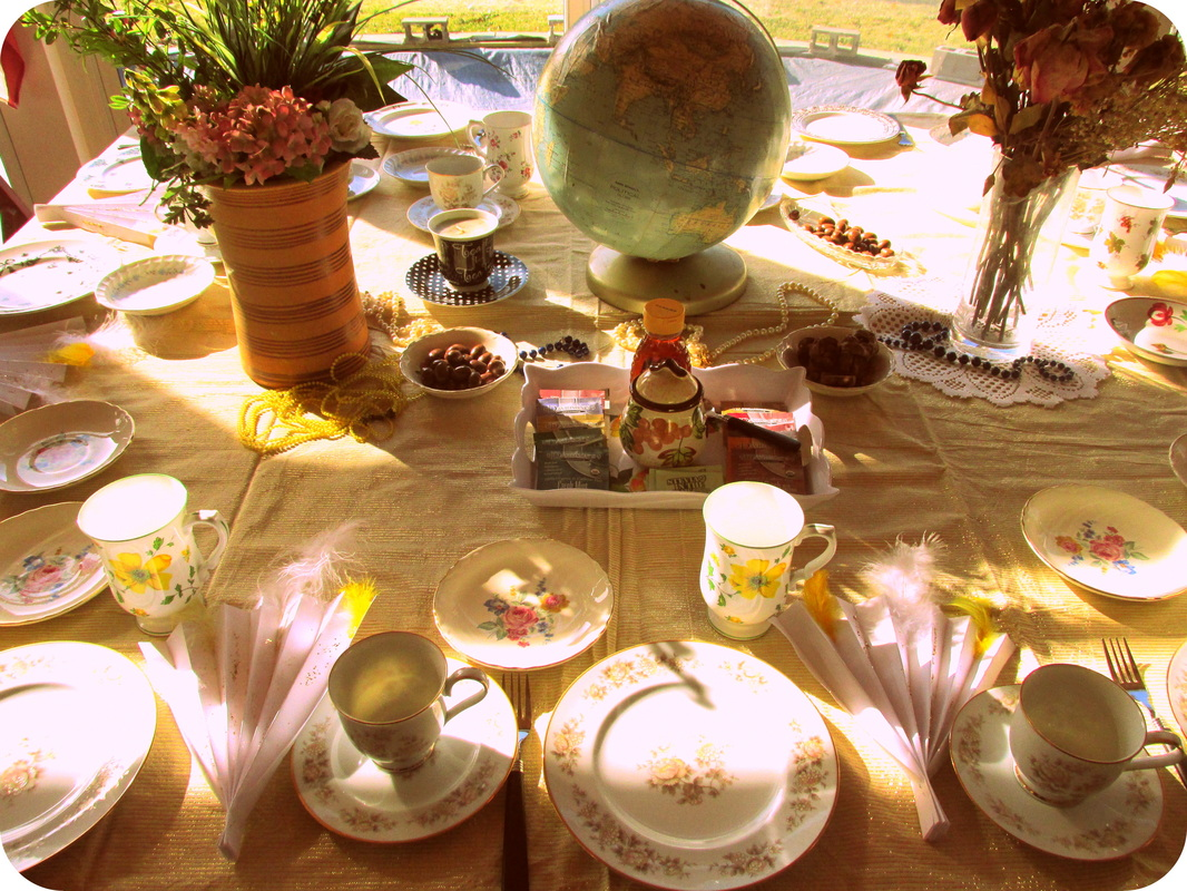 How to Host a Tea Party; Setting the Table