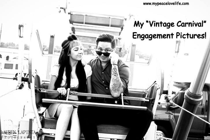 My Vintage Carnival Engagement Pictures