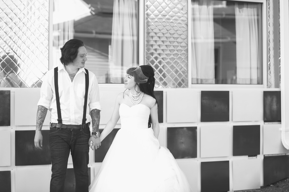 China Barbie's 50's Diner Wedding Shoot!