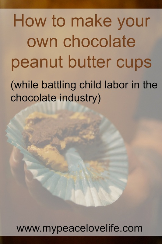 Organic, Vegan, Fair Trade Chocolate Peanut Butter Cups