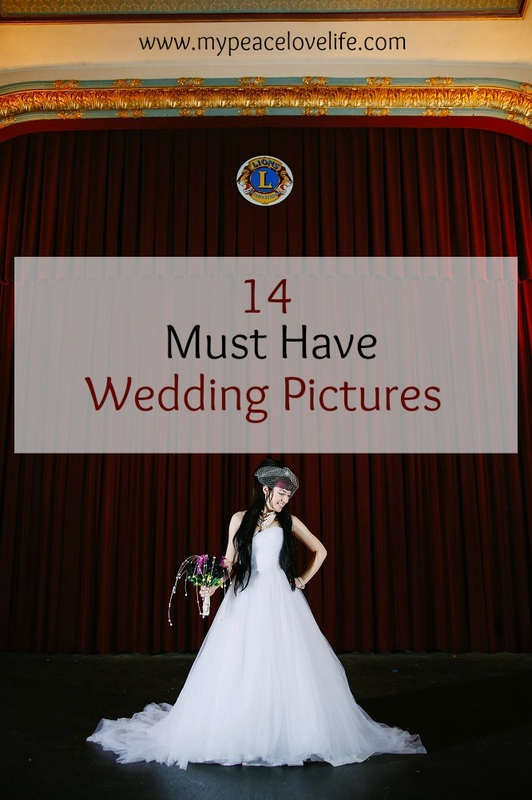 14 Must Have Wedding Pictures
