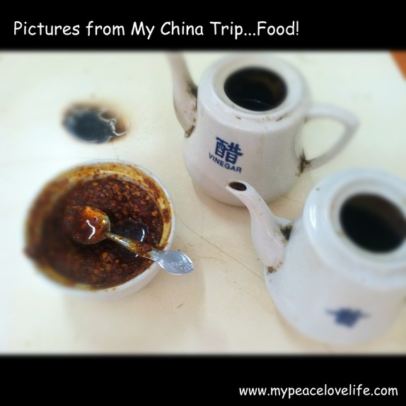 Pictures from my China Trip...Food!