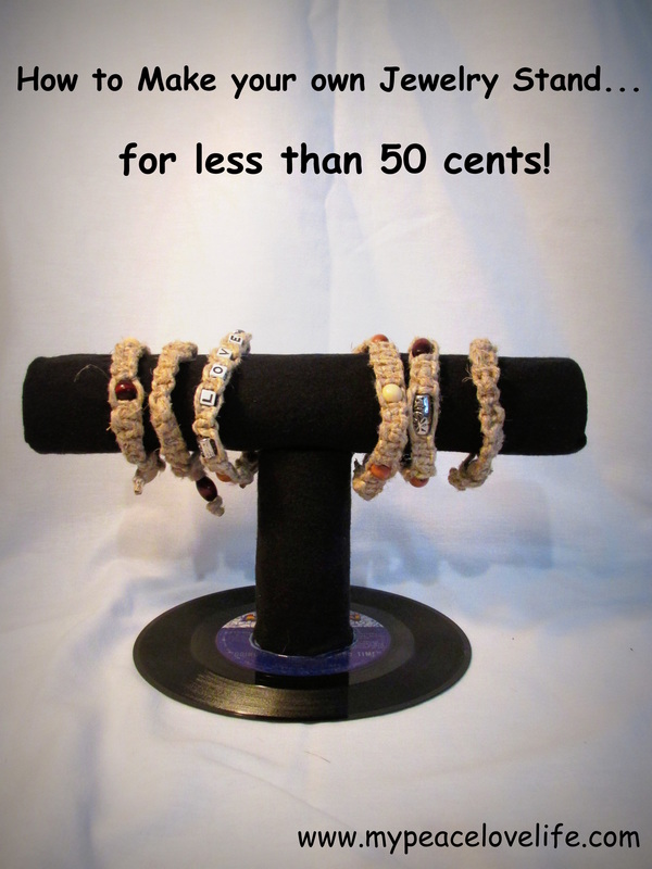 How to Make Your Own Jewelry Stand!