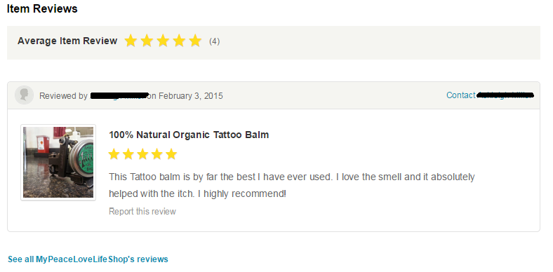 Amazing Tattoo Balm Review