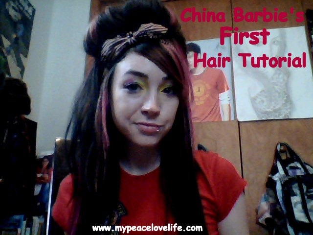 China Barbie's First Hair Tutorial