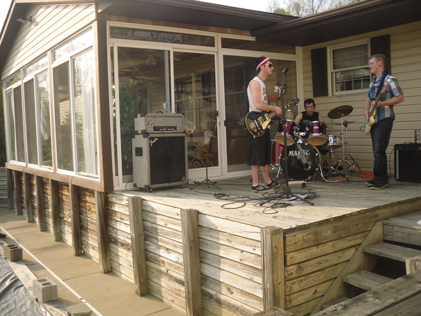 backyard jamming