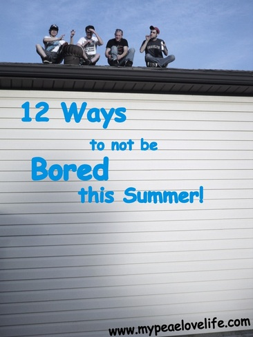 ways to not be bored this summer
