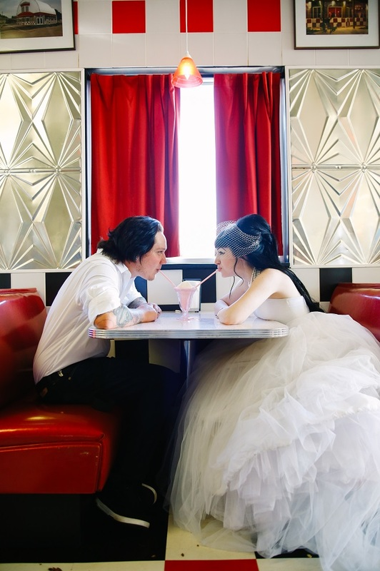 Our 50's Diner Wedding Shoot!