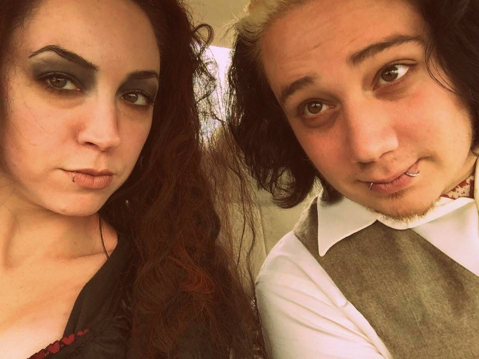 DIY Sweeney Todd and Mrs. Lovett Couples Halloween Costume