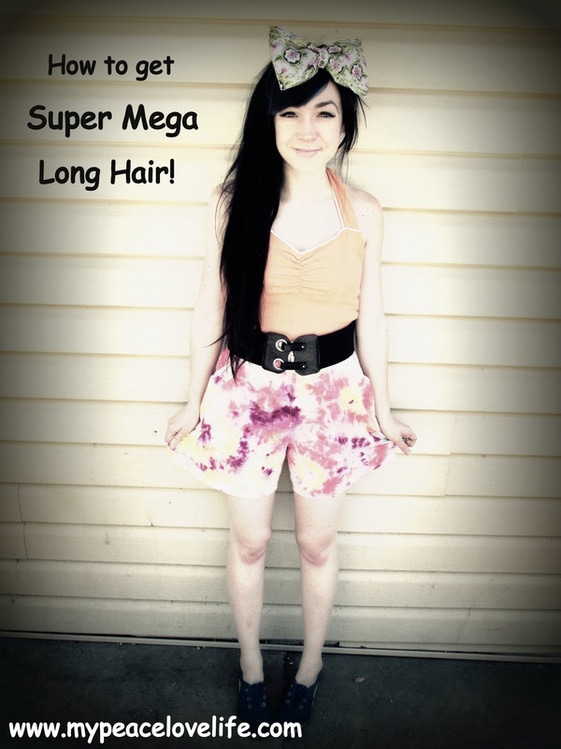 How to Get Super Mega Long Hair